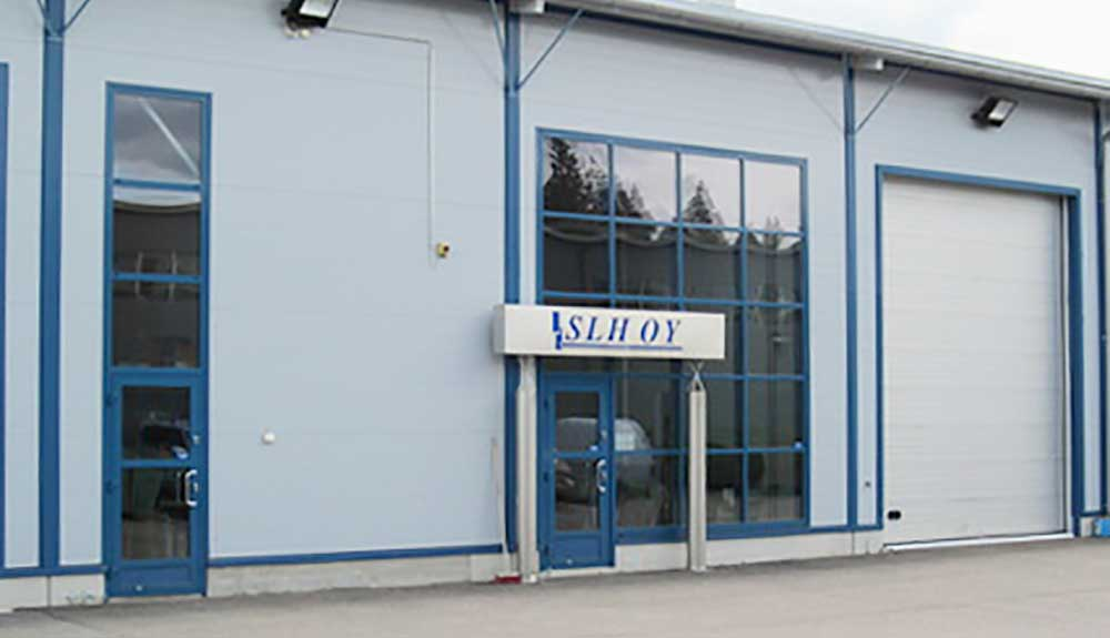 Rakennuspalvelu SLH Oy:n toimisto